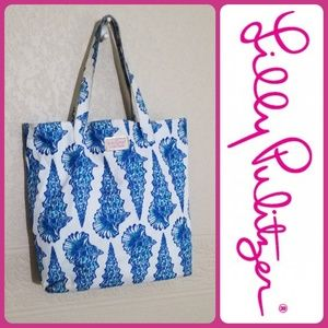 Lily Pulitzer made for Estee Lauder Canvas Tote